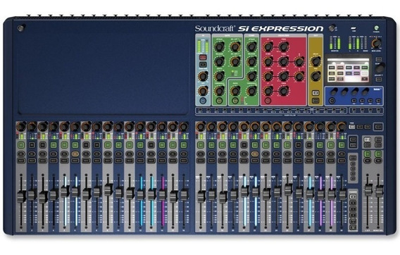 Mesa De Som Digital Si Expression 3 Soundcraft 32 Canais