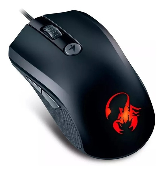 Mouse Gamer Genius X-g600 Ammox Gaming 6 Botones 1600dpi