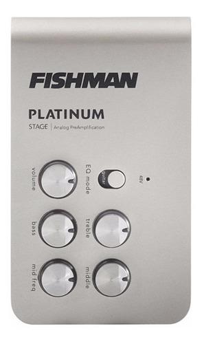 Preamplificador Ext Fishman Platinum Stage Eq/di Pro-plt-301