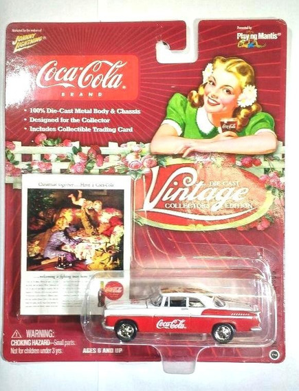 1955 Chrysler C 300 Coca Cola Johnny Lightning 1/64 Sa17