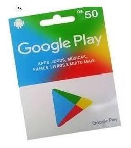 Imagem 1 de 1 de Gift Card Play Store