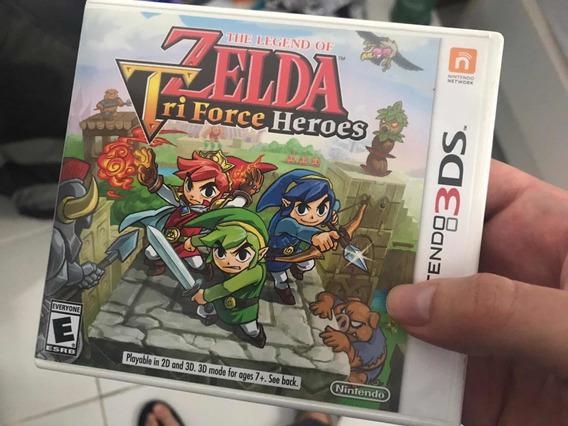 Nintendo 3ds - The Legend Of Zelda Tri-force Heroes