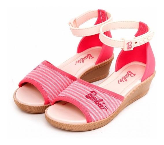 Sandália Barbie Anabela Trend 21545 - Rosa