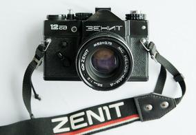 Zenit 12 Cd + Lente Mc Helios-44 M 58mm F2