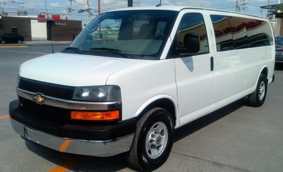 Chevrolet Express Lt G-3500 Extralarga 15 Pasaj. Mod.2013