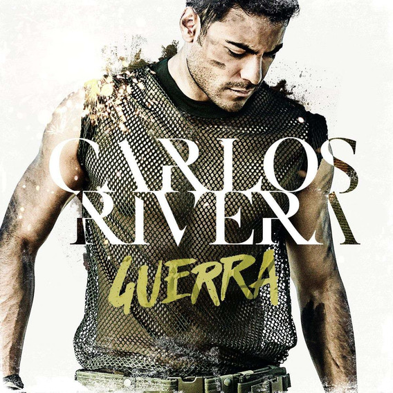 Cd+dvd Carlos Rivera -guerra -nuevo En Stock