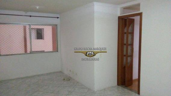 Apartamento Com 3 Dormitórios Para Alugar, 75 M² Por R$ 1.500,00/mês - Belém - São Paulo/sp - Ap0418