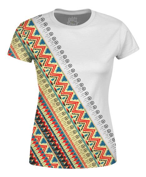 Camiseta Baby Look Feminina Étnica Tribal Africana Md06