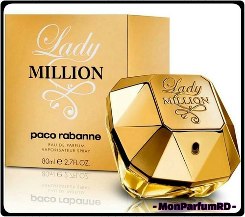 Perfume Lady Million By Paco Rabanne. Entrega Inmediata