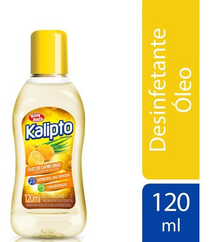 Imagem 1 de 1 de Kalipto Oleo De Capim Limao 120ml