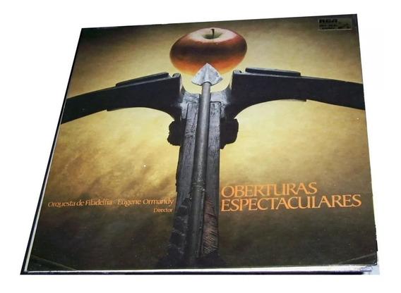 Vinilo Oberturas Orq De Filadelfia Ormandy Rossini Offenbach