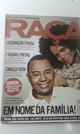 Revista - Raça Brasil - 128 - Adriana Bombom - Dudu Nobre