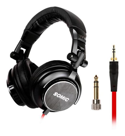 Somic Mm185 Profissional Dj Hifi Monitor Estéreo Dobrável