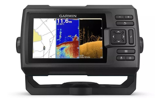 Gps Sonar Pesca Garmin Fishfinder Striker 5cv Plus Uso Barco