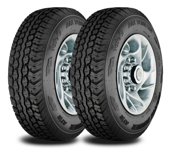 Kit 2 Neumaticos Fate Lt 215/75 R15 106q Tl Rr At/r Serie 2