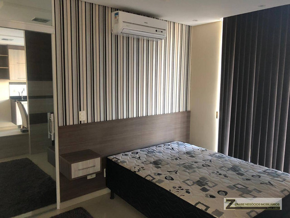 Studio Com 1 Dormitório Para Alugar, 37 M² Por R$ 1.610/mês - Vila Augusta - Guarulhos/sp - St0014