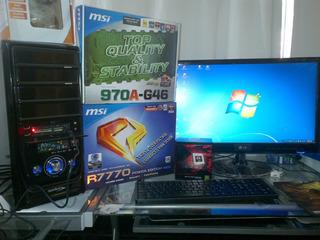 Vendo Pcu Gamer Amd No Incluye Monitor