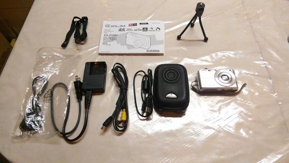 Câmera Digital Casio Exilim 10.1 Mega Pixels C/ Cartão Sd
