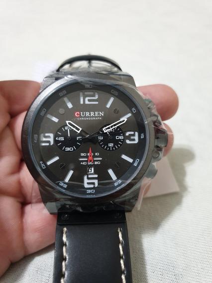 Relógio De Pulso Curren - Black