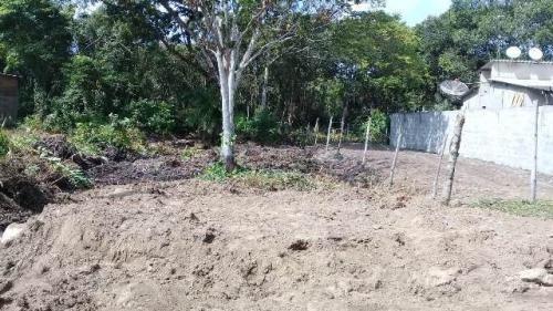 Terreno No Jardim Marambá 2, Em Itanhaém, Litoral Sul