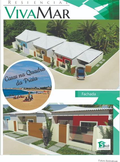 Casa 62m², 2 Quartos (1 Suíte), Quadra Da Praia, Cabo Frio