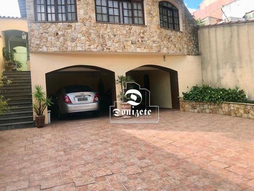 Sobrado Com 3 Dormitórios À Venda, 253 M² Por R$ 930.000,00 - Vila Cecília Maria - Santo André/sp - So3767