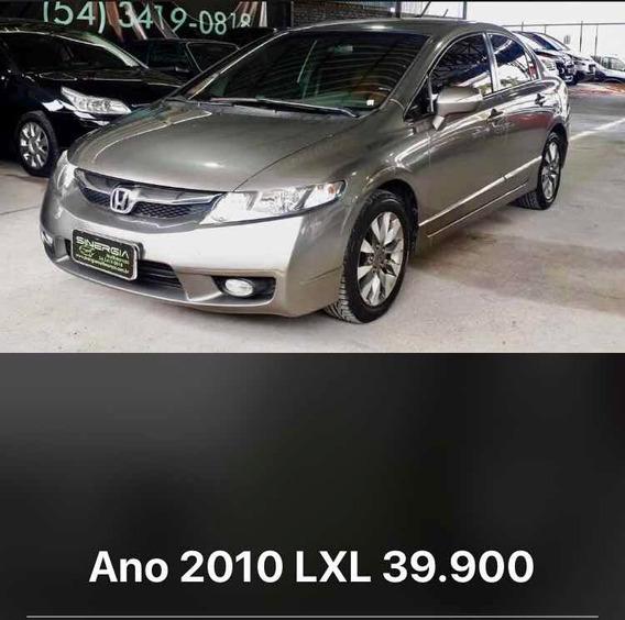 Honda Civic 1.8 Lxl Couro Flex Aut. 4p 2010