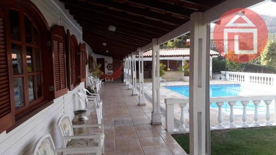 Chácara Com 4 Dormitórios À Venda, 2000 M² Por R$ 636.000 - Campo Novo - Bragança Paulista/sp - Ch0197