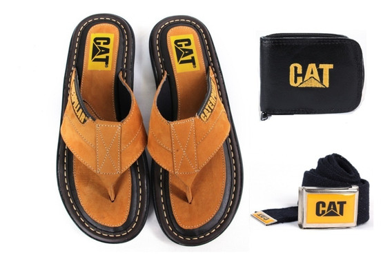 Chinelo Masculina Caterpillar Original + Top Brindes
