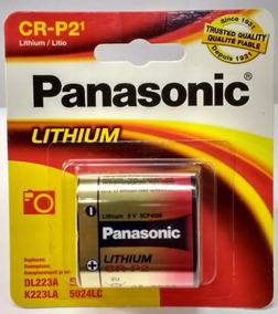 Cartela Bateria Pilha 6v Cr-p2 Crp2 Lithium Photo Panasonic