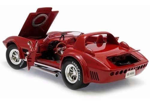 Chevrolet Corvette Gran Sport Vermelho 1964 1/18 Yat Ming