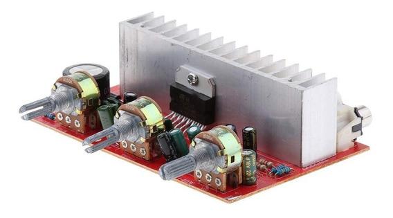 Amplificador Tda 7377 Stéreo 40w Eq. Grave, Agudo E Volume