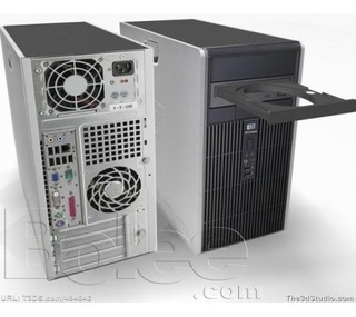 Computadora Hp Dc5750, Win7, Gtia, Local A La Calle !!!