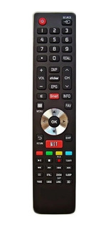 Control Remoto Smart Tv Bgh Jvc Noblex Sanyo Hisense Netflix