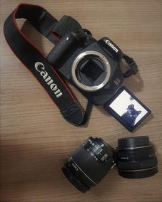Kit Câmera + Lentes + Bag Canon T3i (600d)