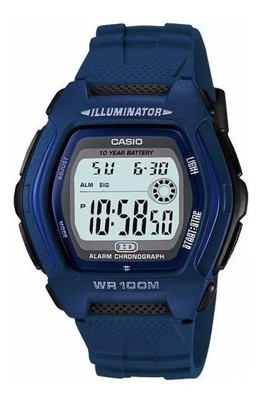 Relógio Casio Hdd-600 C2a Hora Dual Alarme Cronometro 100m A