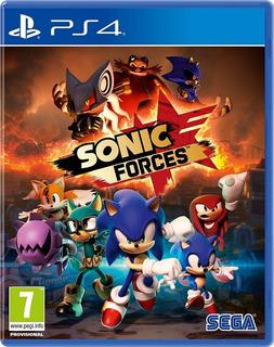 Sonic Forces Ps4 Fisico Sellado Ade Ramos