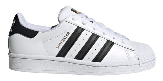 Zapatillas adidas Superstar Bla/neg De Niños