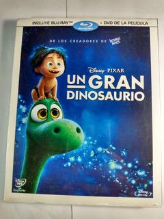 Disney Pixar Un Gran Dinosaurio Bluray + Dvd = 2 Discos
