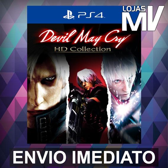 Devil May Cry Hd Collection Ps4 Códgo 12 Dígitos