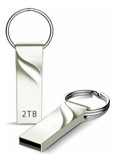 Pen Drive 2tb Usb 3.0 Em Metal Frete 10 Reais