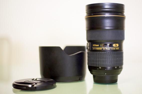 Lente Objetiva Nikon 24-70mm