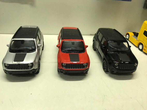Jeep Renegade Trailhawk Escala 1:36 Welly