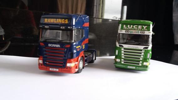 Miniatura Caminhão Scania Escala 1/50 Corgi - 2 Minis