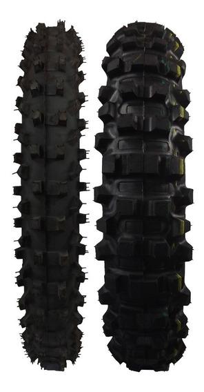 Par Pneu Remold Cross 410-18/300-21 Tornado Xr Nx Crf Xtz Dt