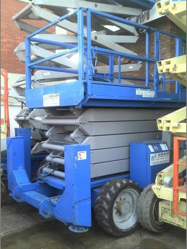 Plataforma Elevador Genie Diesel Eleva 18 Mts 4x4
