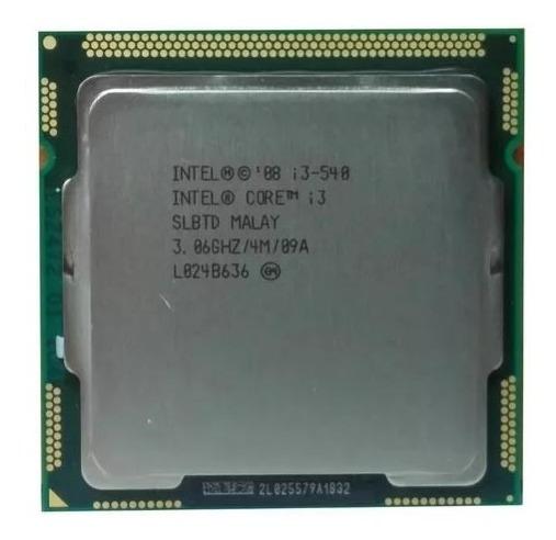 Processador Intel Core I3-540 3.06ghz Cache 4mb Oem Lga 1156