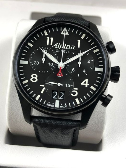 Alpina Startimer Pilot Big Date Chronograph 44mm