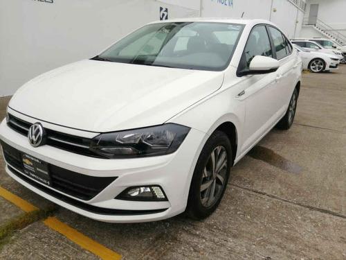 Imagen 1 de 15 de Volkswagen Virtus 2020 4p L4/1.6 Aut