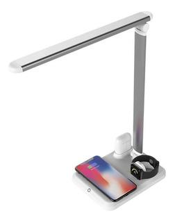 Cargador Qi Wireless 4 En 1 Apple Mate iPhone Samsung Y Mas